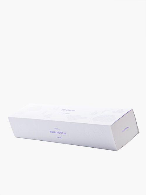 συσκευασία δώρου με bathbombs με άλατα epsom για ποδόλουτρο ή μπάνιο κλειστό