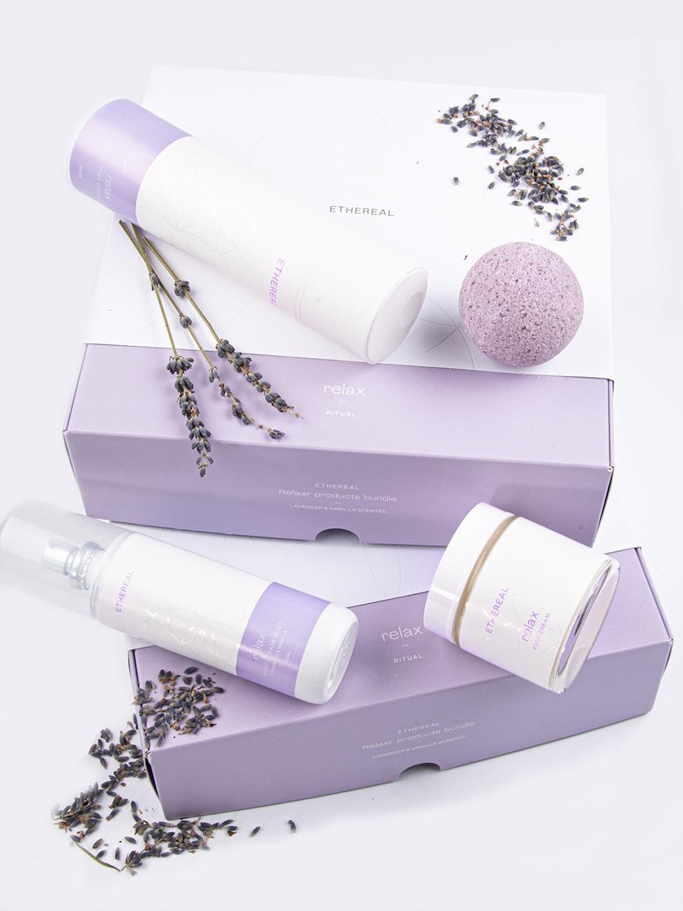 Bundle_Relax_comp_Ethereal_Dermocosmetics_Skincare_Handmade_Greek_Products