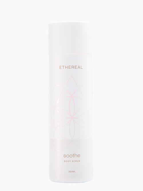 Scrub Soothe με άρωμα πούδρα για ενυδάτωση σώματος και άκρων ευθεία λήψη